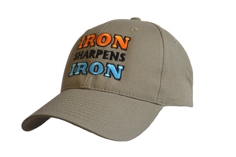 Iron Sharpens Iron Logo Cap Military Green