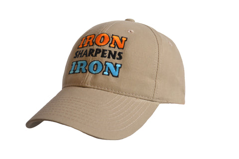 Iron Sharpens Iron Logo Cap Khaki