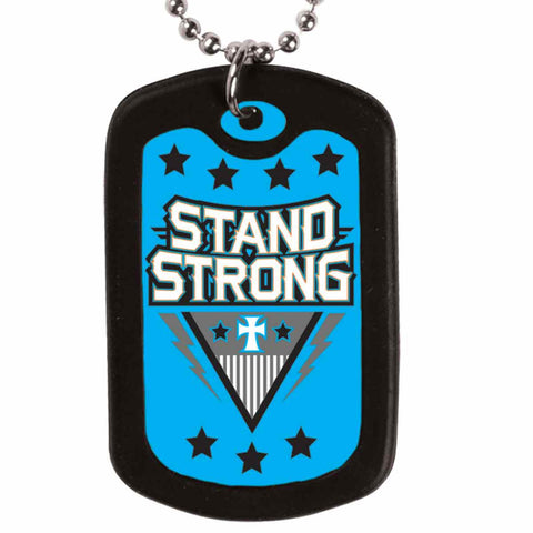 Stand Strong Dog Tag Necklace