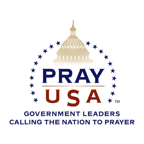 PrayUSA Removable Window Decal
