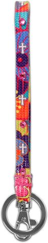 Colorful Crosses Wrist Strap