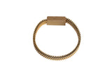 Zip Up Gold Charging Bracelet