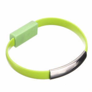 Avawrist Lime Green Charging Bracelet