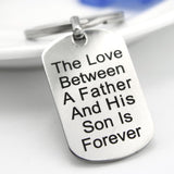 Father Son Eternal Love Keychain
