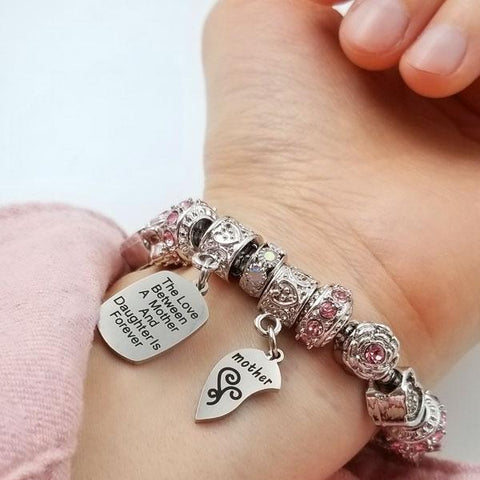Mother Daughter Eternal Love Bracelets