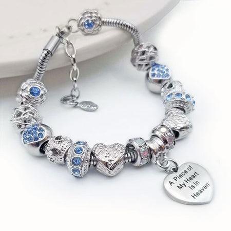 Piece of my Heart Bracelet - Blue