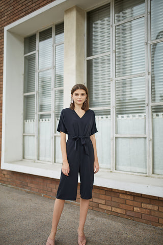 Valentina Pinafore Jumpsuit (with buckle)