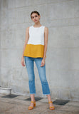Colourblock Tank Top