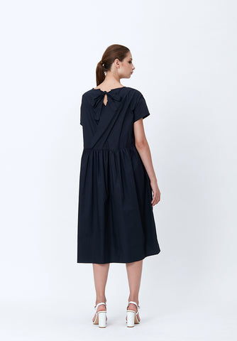 JEAN POCKETED JERSEY DRESS