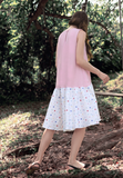 Dancing Kueh Dropwaist High-low Dress