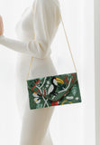 Friday Foliage Beaded Crossbody (Preorder)
