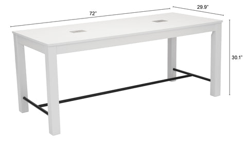 Image of Odin Dining Table White