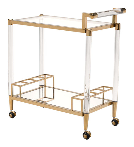 Image of Existential Bar Cart Gold