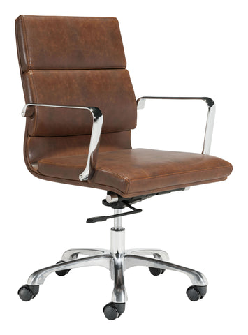 Image of Ithaca Office Chair Vintage Brown