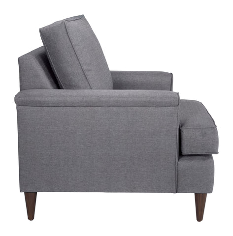 Image of Campbell Arm Chair Dark Gray