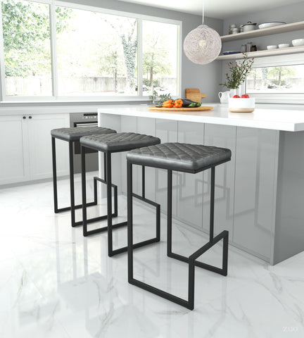Image of Element Barstool Gray
