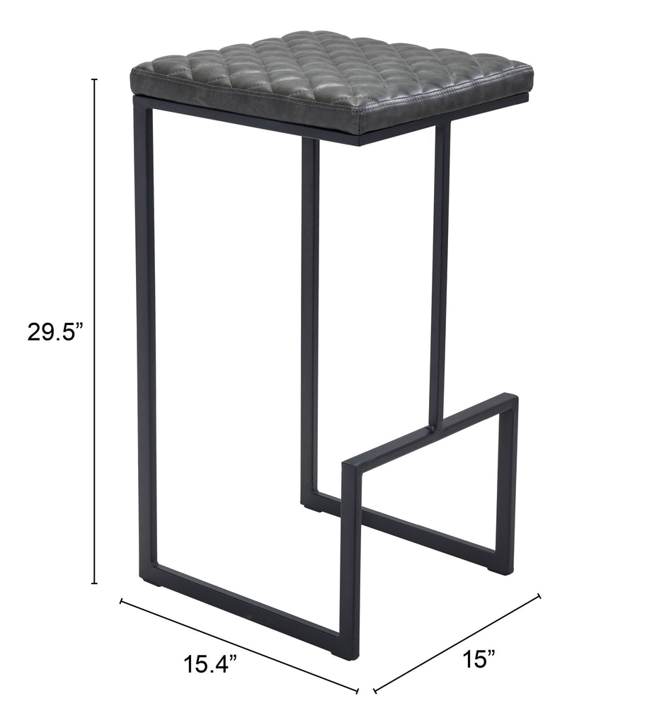 Element Barstool Gray