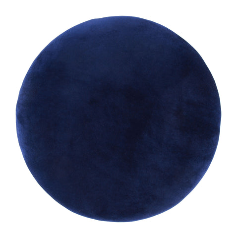 Image of Juniper Side Stool Blue & Gold