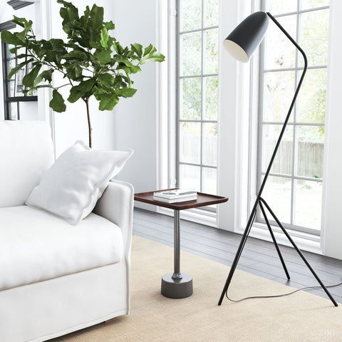 Jamison Floor Lamp Matte Black
