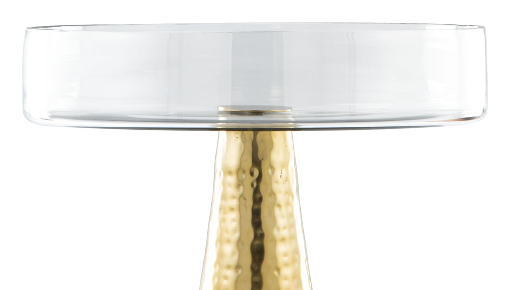 Hendrix End Table Gold
