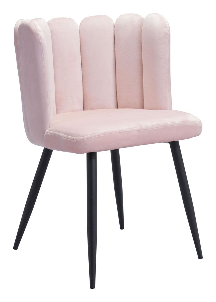 Adele Dining Chair (Set of 2) Pink