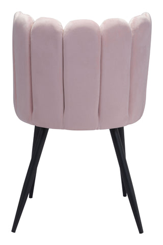 Image of Adele Dining Chair (Set of 2) Pink