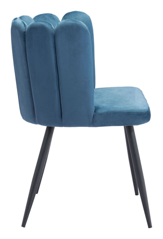 Image of Adele Dining Chair (Set of 2) Blue