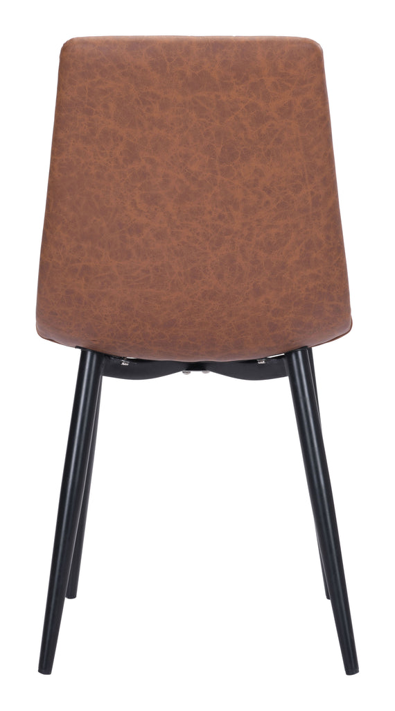 Dolce Dining Chair (Set of 2) Vintage Brown
