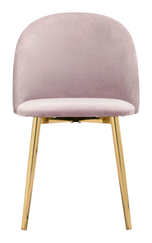 Image of Cozy Dining Chair (Set of 2) Pink