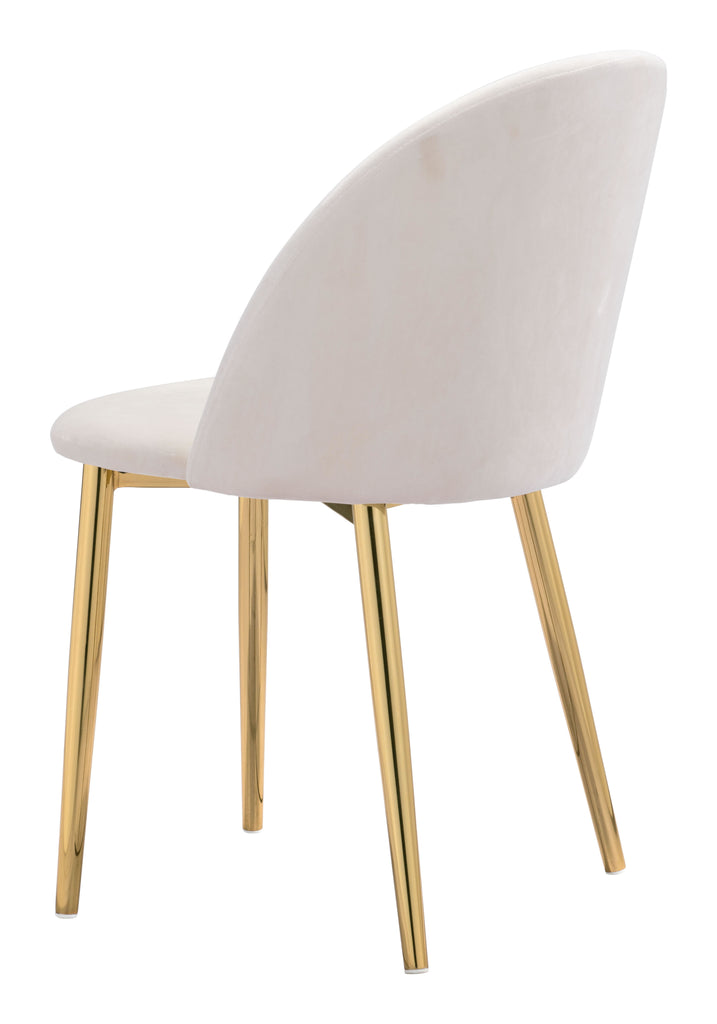 Cozy Dining Chair (Set of 2) Cream