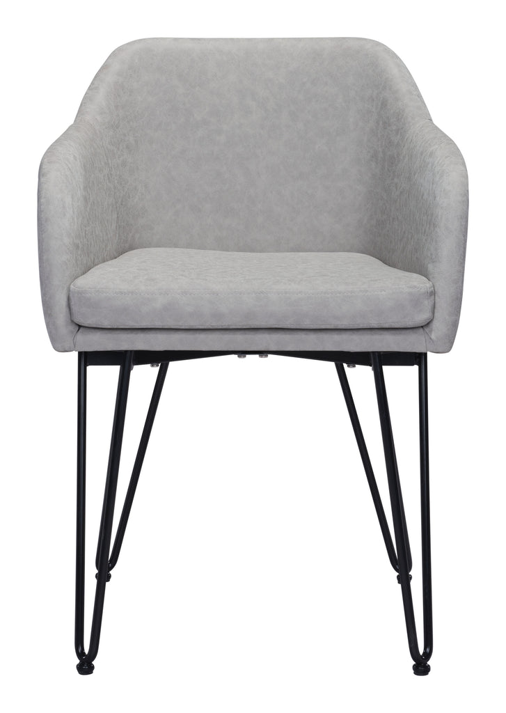 Braxton Dining Chair (Set of 2) Gray