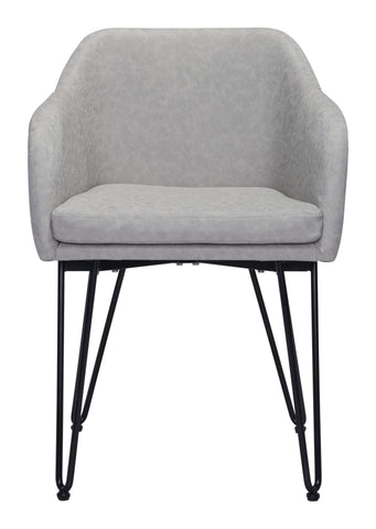 Image of Braxton Dining Chair (Set of 2) Gray