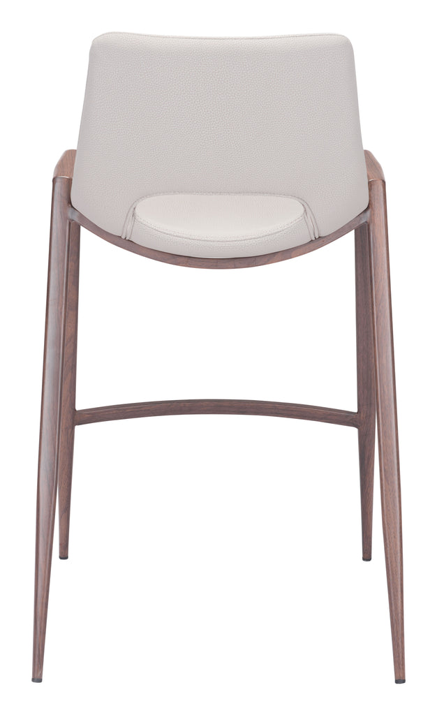 Desi Counter Chair (Set of 2) Beige