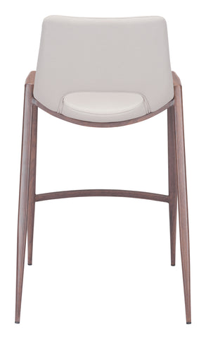 Image of Desi Counter Chair (Set of 2) Beige