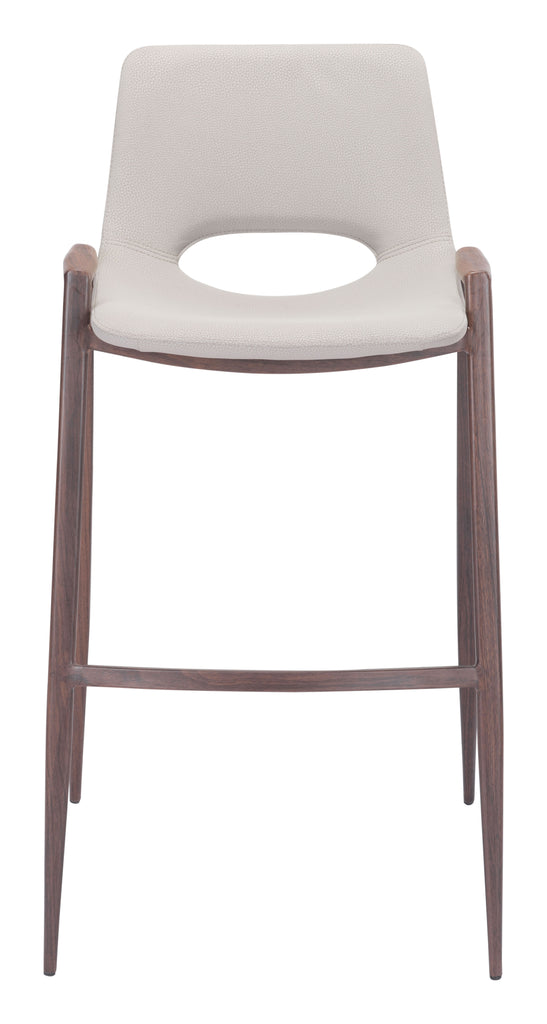 Desi Bar Chair (Set of 2) Beige
