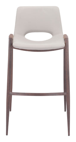 Image of Desi Bar Chair (Set of 2) Beige