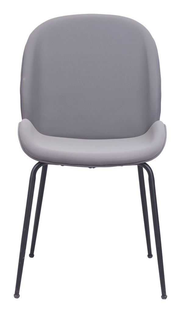 Miles Dining Chair (Set of 2) Gray