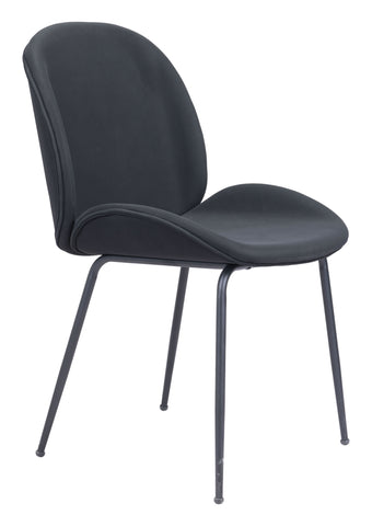 Image of Miles Dining Chair (Set of 2) Black