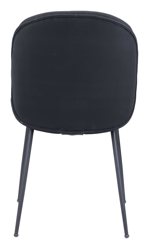 Miles Dining Chair (Set of 2) Black