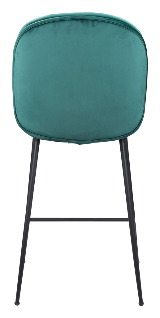 Miles Counter Chair Green