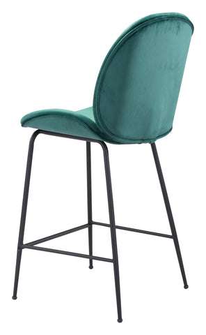 Image of Miles Counter Chair Green