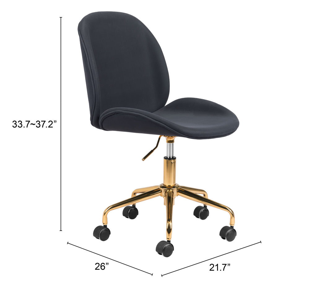 Miles Office Chair Black