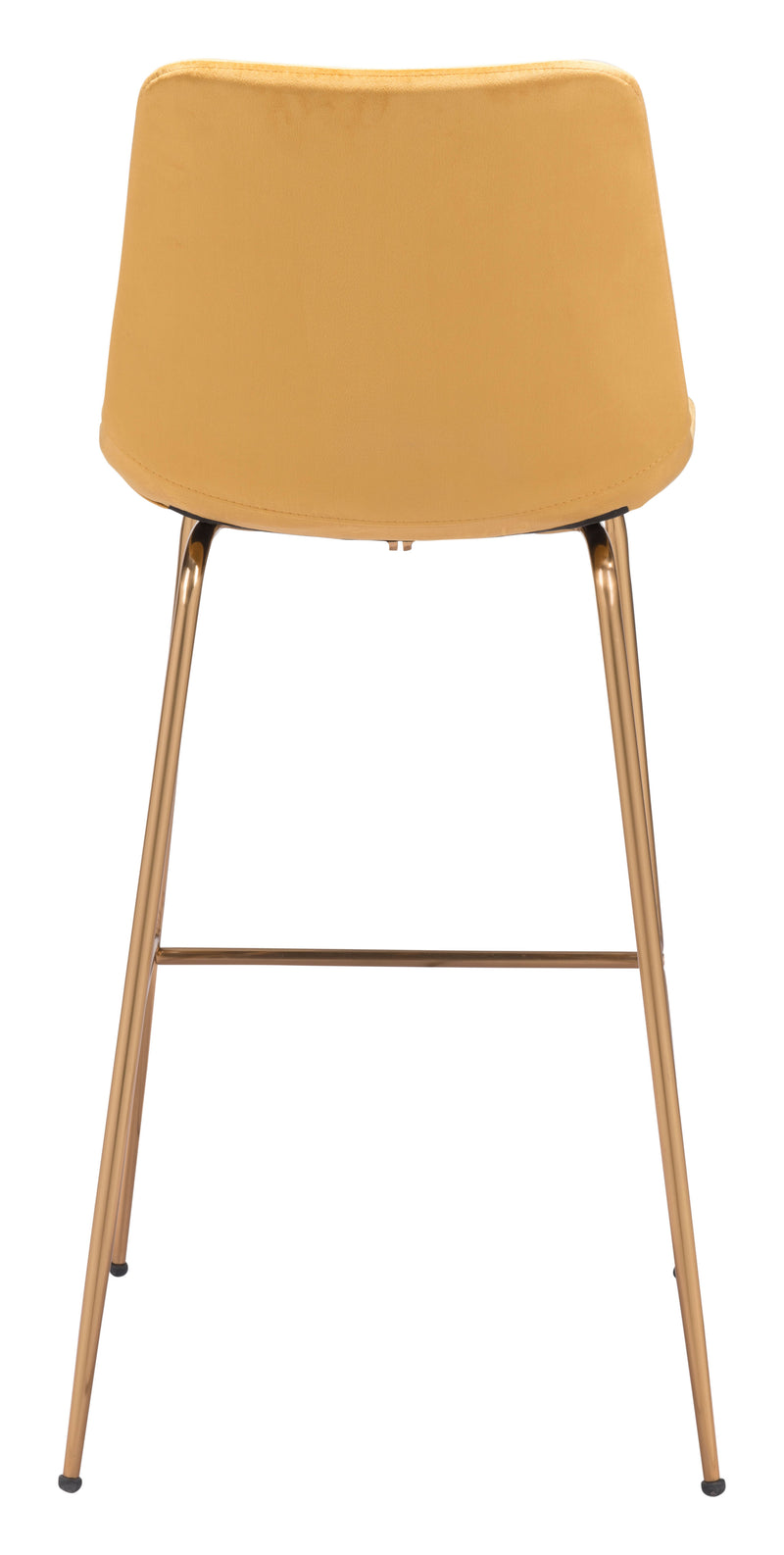 Tony Bar Chair Yellow & Gold