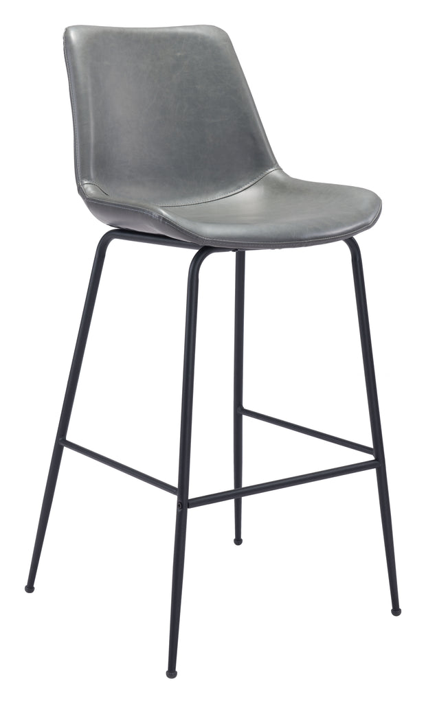 Byron Bar Chair Gray