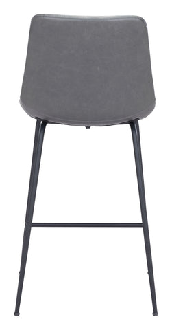 Image of Byron Counter Chair Gray