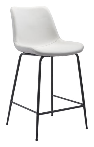 Image of Byron Counter Chair White