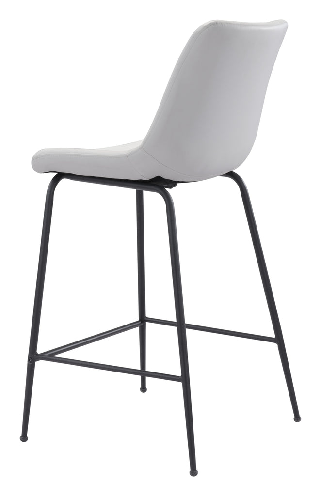 Byron Counter Chair White
