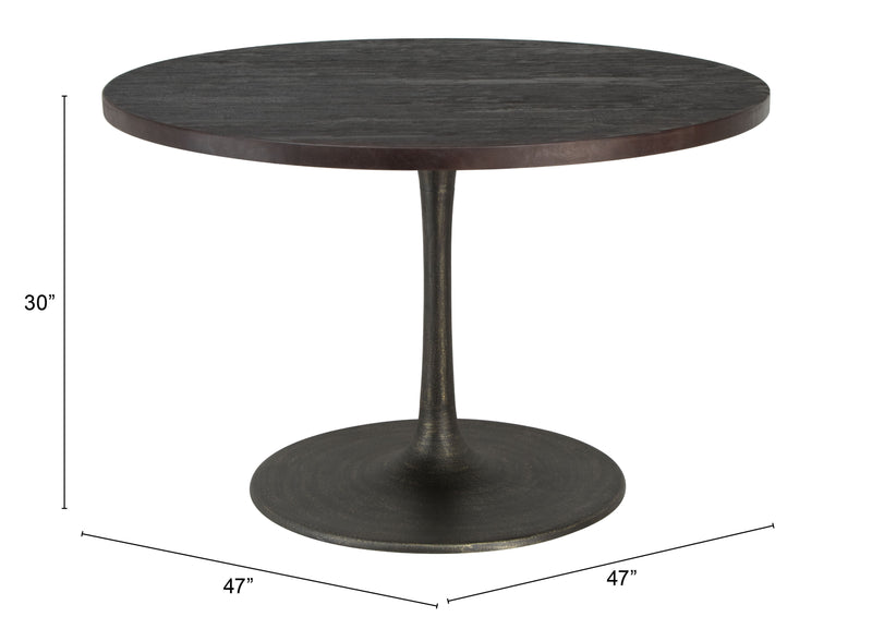 Seattle Dining Table Black