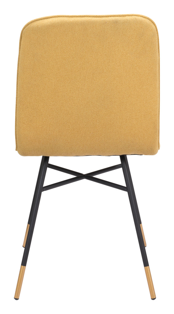 Var Dining Chair (Set of 2) Yellow