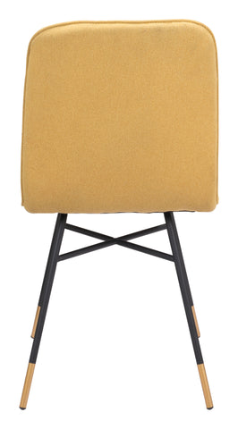 Image of Var Dining Chair (Set of 2) Yellow